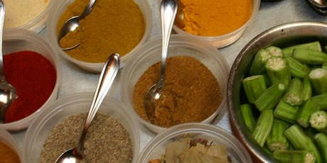Indian Cooking Class: Learn about Exotic Spices & Indian Cooking with Lunch and Dessert tickets