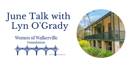 June Talks | Historian Lyn O'Grady tickets