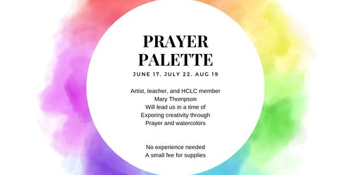 Prayer Palette - August