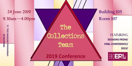 The Collections Team 2019 Conference tickets