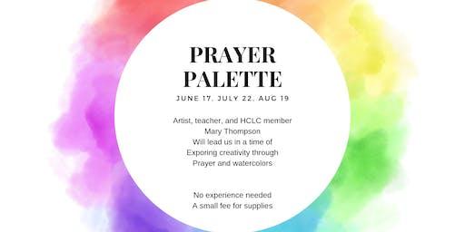 Prayer Palette - July