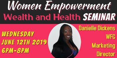 Women Empowerment Health and Wealth Seminar