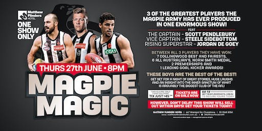 Magpie Magic feat Scott Pendlebury, Steele Sidebottom & Jordan De Goey!