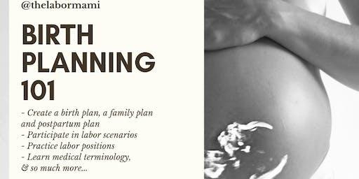 Birth Planning 101 (Couple/Partner Edition)