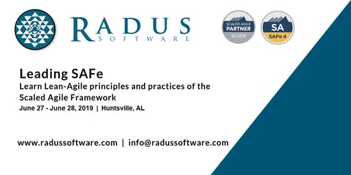 Leading SAFe 4.6 with SA Certification - Huntsville AL
