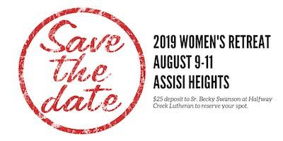 2019 Women's Retreat Halfway Creek, Holmen, Journey, and Mindoro-Lewis Valley Lutheran Churches
