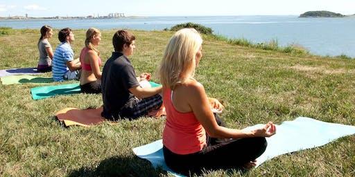 HarborFit: Island Yoga on Spectacle Island