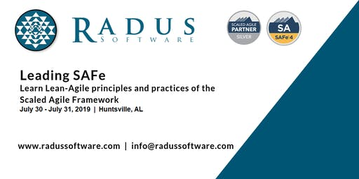 SAFe Advanced Scrum Master with SASM Certification - Huntsville AL