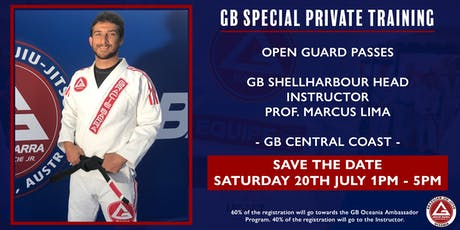 GB Special Private Training at GB Central Coast tickets