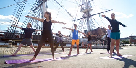 HarborFit: Old Ironsides Yoga  tickets