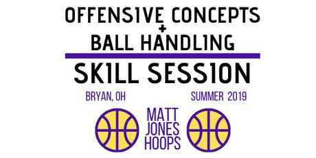 Offensive Concepts & Ball Handling | Matt Jones Hoops | 6th/7th/8th Coed tickets