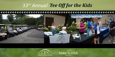 33rd Annual CFS Tee Off for the Kids tickets