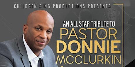 Donnie McClurkin VIP Seating & Meet Greet  tickets