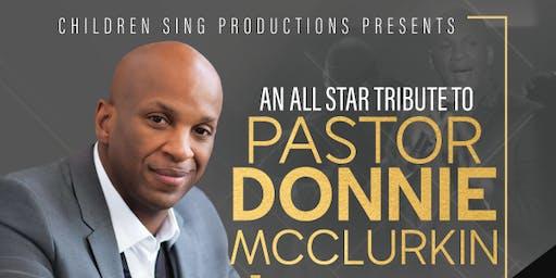 Donnie McClurkin VIP Seating & Meet Greet