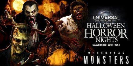 HALLOWEEN HORROR NIGHTS IN ORLANDO tickets