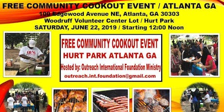 Free Community Cookout Event - Atlanta Georgia tickets