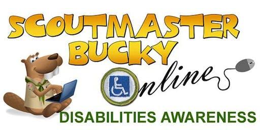 Scoutmaster Bucky Online - Disabilities Awareness Merit Badge -  Online Class 2019-06-19 - Scouts BSA