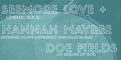 Afro Futures in Folk Music with Hannah Mayree & Seemore Love ft. Doe Fields