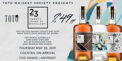 Toto Whiskey Society - 23rd Street Distillery