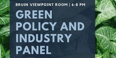 Green Policy and Industry Panel