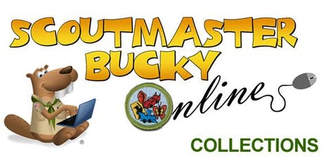 Scoutmaster Bucky Online - Collections Merit Badge -  Online Class 2019-07-12 - Scouts BSA tickets