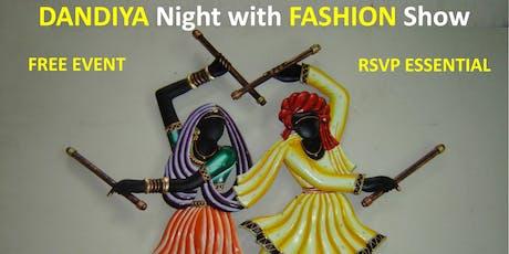 Dandiya Night with FASHION SHOW tickets