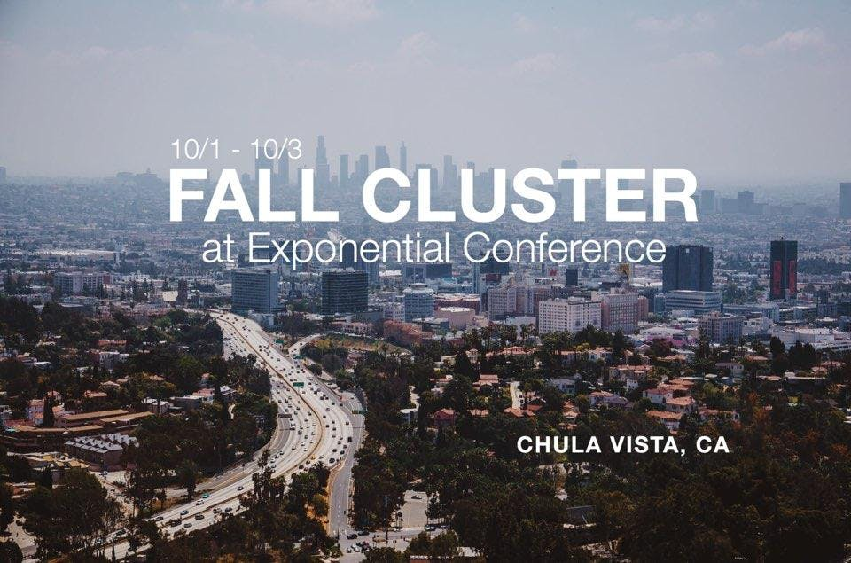 Fall Cluster 2019