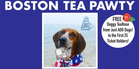 BarkHappy Boston: Boston Tea Pawty benefiting PAWS New England tickets