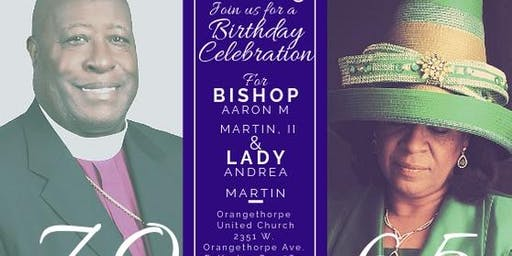 A Birthday Celebration for Bishop Aaron & Lady Andrea Martin