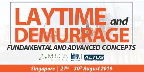 Laytime and Demurrage – Fundamental and Advanced Concepts tickets