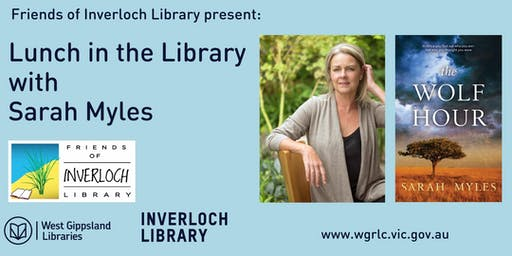 Lunch in the Inverloch Library with Sarah Myles