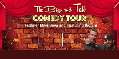 The Big and Tall Comedy Tour at Maggie's On The River