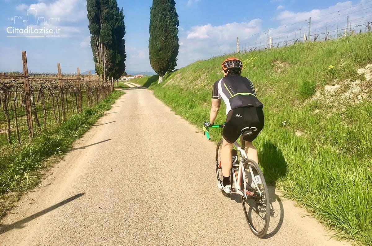 Bike Tour Borghetto e Colline Moreniche su strada