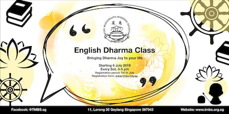 Buddhism English Dharma Class (Beginner) tickets