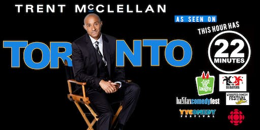 Trent McClellan coming to Toronto July 2019