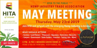 May's Hemp Industry Trade Association of Arizona Meeting