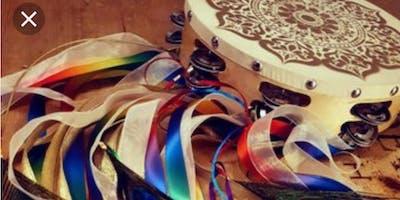 Mandala Tambourine