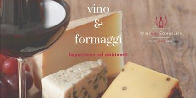 Corso abbinamento vino/formaggi