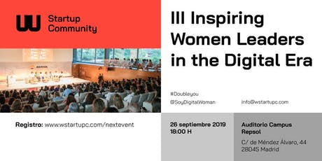 III Inspiring Women Leaders in the Digital Era   tickets