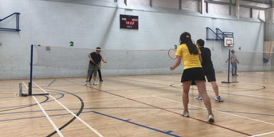 ACCSEA Badminton Club Wednesday Sutton David Weir