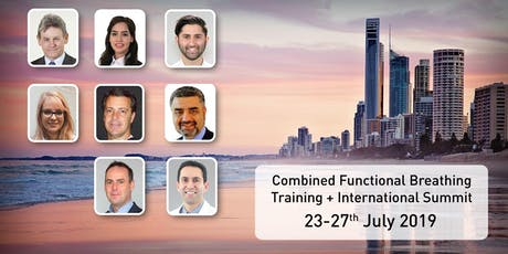 Combined Functional Breathing Training & International Summit tickets