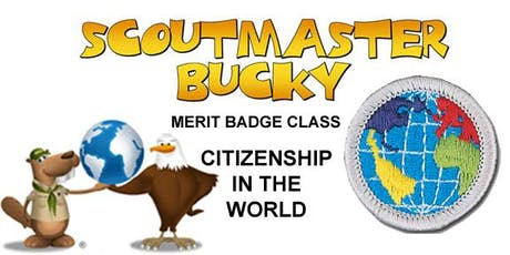 Citizenship in the World Merit Badge - Class 2019-07-08 - Monday AM - Scouts BSA tickets