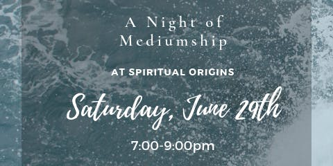 Spirit-Heart Connections: A Night of Mediumship