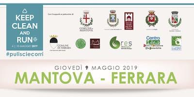 #keepCleanAndRun eventi 6a Tappa giovedì 9 maggio Mantova-Felonica-Ferrara