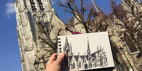 Andersketch - Urban Sketchers JDP/OMD 2019 billets