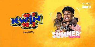 KWIN'S Summer Bash 2019 - Starring Blueface, Derek King, Nef The Pharaoh...