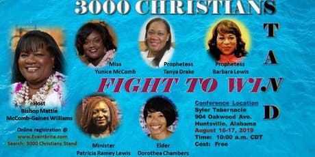 3000 Christians Stand - Fight to Win tickets