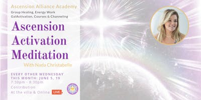 Ascension Activation Meditation with Nada