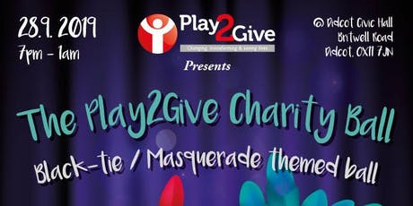Play2Give Charity Ball 2019 tickets