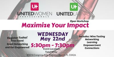 Maximize Your Impact, Women's Event - May 22nd